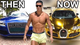 10 Footballers Cars ★ Then and Now ★ Ronaldo,Messi, Neymar...etc