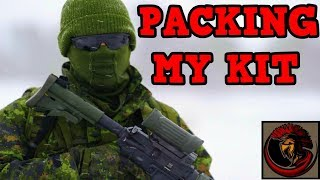 How Do I Pack My Army Kit and Equipment?