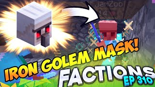 Minecraft Factions #311 - Prot 10 Iron Golem Mask! (Minecraft Raiding)