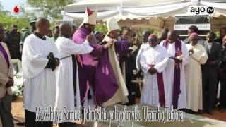Mazishi ya Spika Mstaafu Samuel Sitta Urambo Tabora