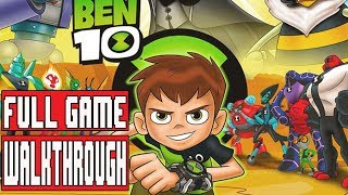 BEN 10 Gameplay Walkthrough Part 1 Full Game No Commentary