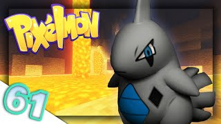 Flooding the Base with Lava!  | Pixelmon: Pokecentral | Episode 61