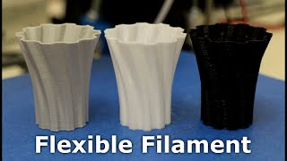 3D Printer - Flexible Filaments