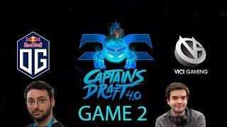 Captains Draft 4.0 - Vici Gaming vs. OG Game 2