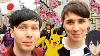 A Day in the Life of Dan and Phil in JAPAN!