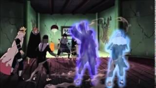 Tobirama and Hashirama's Chakra || Naruto Shippuden Episode 366