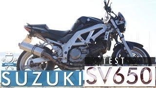 Warcząca, wibrująca i zadziorna V'ka! Test Suzuki SV650 2003 - 2009