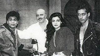 Shahrukh Khan, Salman Khan On The Sets Of Karan Arjun | Bollywood Trivia