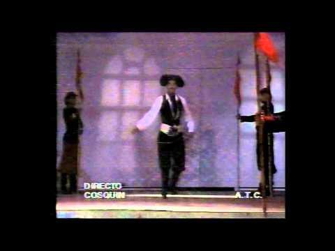 Ballet Folclórico Nacional Argentino El Chucaro Cosquín 1991