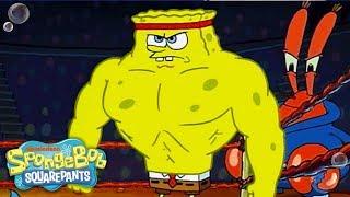 Music Monday w/ SpongeBob SquarePants | ULTIMATE 'Champion' Sportz Music Video 🎶 | Nick