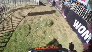 Insane 2017 Valparaiso, Chile Urban Downhill Race run