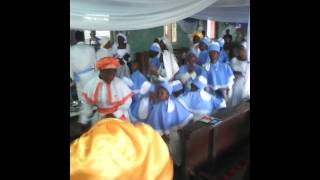Spiritualists Anniversary during the 2016 Holy Ghost Festival for Omo Jesu
