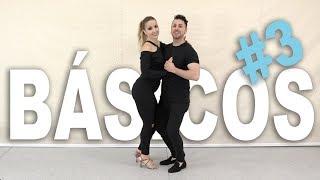 Pasos básicos de BACHATA #3 | Como bailar bachata en pareja | Aprende a bailar con Alfonso y Mónica