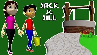 Jack And Jill | Animated Nursery Rhymes For Children | Cartoon Songs For Kids | WOW Juniors