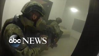 El Chapo | GoPro Helmet POV Footage of Raid Capturing Joaquin Guzman