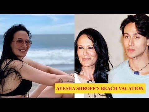 Xxx Mp4 Tiger Shroff's Mother Ayesha Shroff Enjoys Her Beach Vacation 3gp Sex