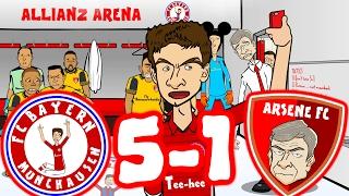 😂BAYERN MAMBO No 5-1! Ep2😂 BAYERN MUNICH vs ARSENAL! (Champions League 2017 Goals Highlights)