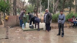 الاتفاق على السماح للفنيين بدخول وادي بردى لإصلاح نبع المياه
