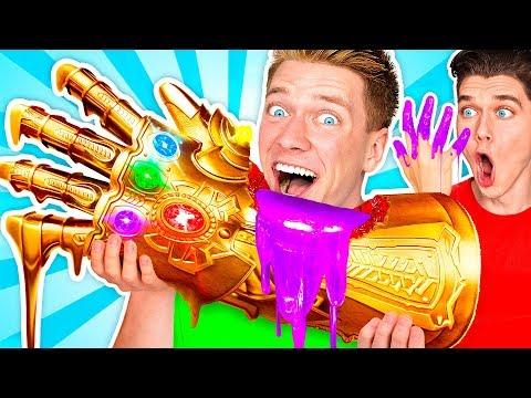 SUPERHERO FOOD ART CHALLENGE & How To Make The Best Giant DIY Edible Avengers Movie Art