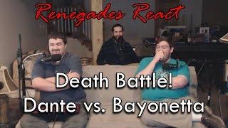 Renegades React to... Death Battle! Dante vs. Bayonetta