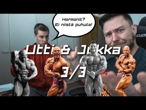 Utti & Jukka 3/3 - Hormonit ja Suomen lupaavin kehonrakentaja