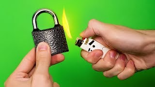 13 EASY WAYS TO OPEN ALMOST EVERYTHING