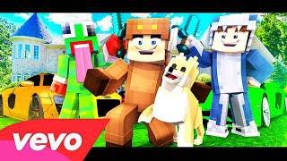 """♫ """"LUCY"""" - Minecraft Parody of FEFE by 6ix9ine & Nicki Minaj (Music Video) ♫ (By MooseCraft)"""