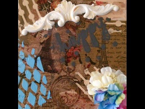 Xxx Mp4 Create Homemade Texture Embossing Paste 3gp Sex