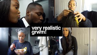 REALISTIC GRWM VLOG (DATE NIGHT) | Only Bells