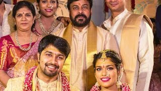 Chiranjeevi's daughter Sreeja and Kalyan Wedding video | Marriage