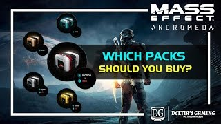 Which Packs Should You Buy in Mass Effect Andromeda
