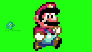 Super Mario Walking Sprite Animation (Mario World HD 1080p)