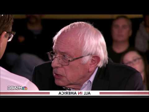 Bernie Sanders Trump Country Kenosha Wisconsin Town Hall Bonus Footage
