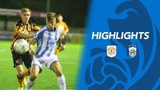 HIGHLIGHTS: Crewe 4-1 Huddersfield Town U18s