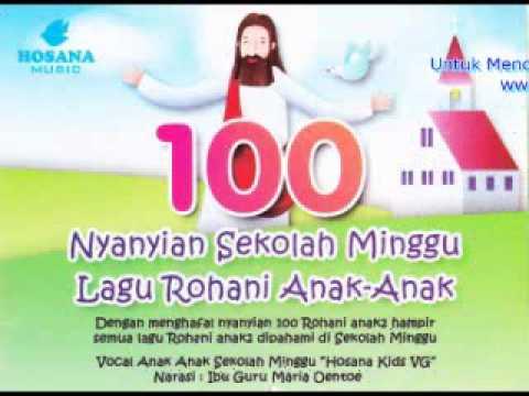 100 Nyanyian Sekolah Minggu Hosana Kids VG
