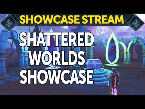 RuneScape's Shattered Worlds Showcase - live stream