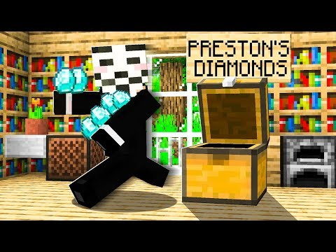 Someone Stole ALL of my DIAMONDS in Minecraft