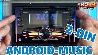 JVC KW R 920 BT   REVIEW   ARS24    Doppel-DIN Autoradio mit Bluetooth und Android Music