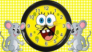 🐭Hickory Dickory Dock Nursery Rhyme + Lots More Cartoon Animation Rhymes & Songs for Children