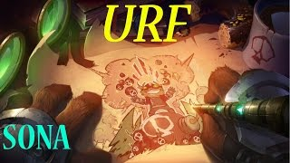 Let´s Play URF is back!!! Gameplay Sona (PBE)