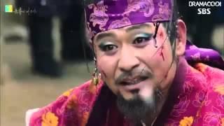 Six Flying Dragons Swordfight Lee Bang Ji vs Gil Tae Mi