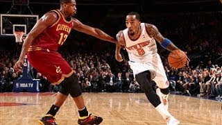 JR Smith With the Crossover and the SICK Dunk