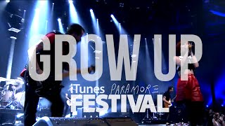 Paramore - Grow Up - (Live iTunes Festival 2013)- [HD]