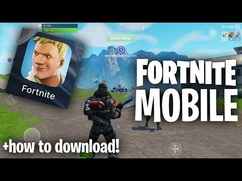 FORTNITE MOBILE!