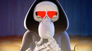 Funny Animated Cartoon | Spookiz Skeleton Teacher Gets Emotional 스푸키즈 | Cartoon for Children