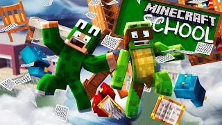 Minecraft School - A TORNADO GOES STRAIGHT THROUGH THE SCHOOL!?