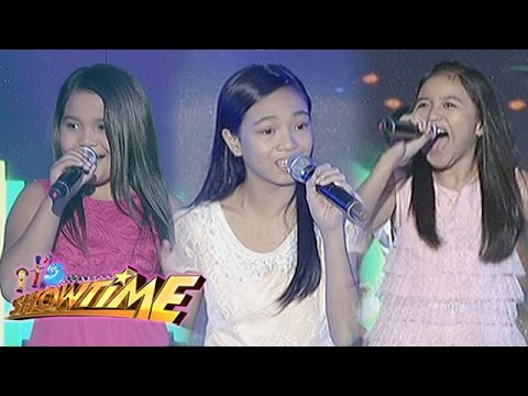 Akisha, Jonalyn and Jhyleanne impress the madlang people with their cute performances.