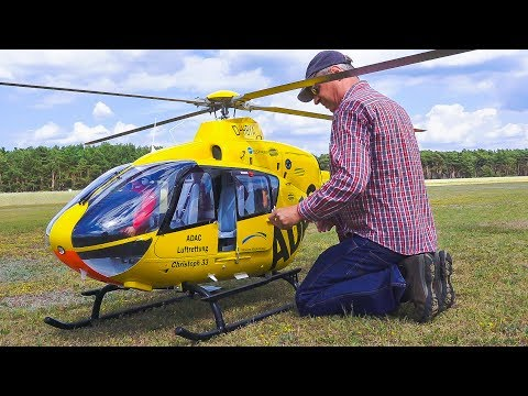 Xxx Mp4 WORLD S LARGEST RC MODEL TURBINE HELICOPTER EC135 EUROCOPTER Flugfest Damelang 2017 3gp Sex