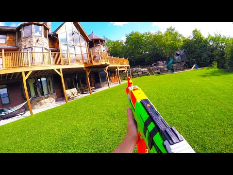 Nerf War: The Estate 1.0 | First Person Shooter