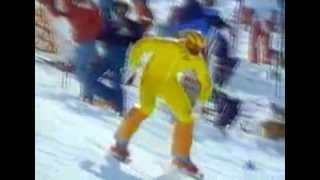 K.L 1984 - Speed Ski Word Cup in les Arcs
